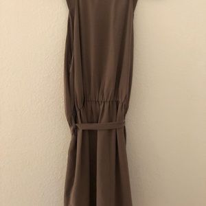 Forever 21 Brown Chiffon Dress